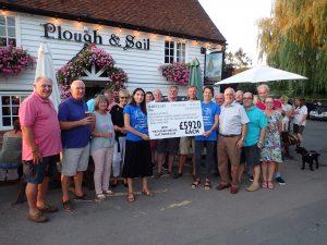 Paglesham clay pigeon charity shoot on target