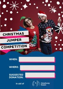Christmas Jumper Competition Poster - Festive Fundraising
