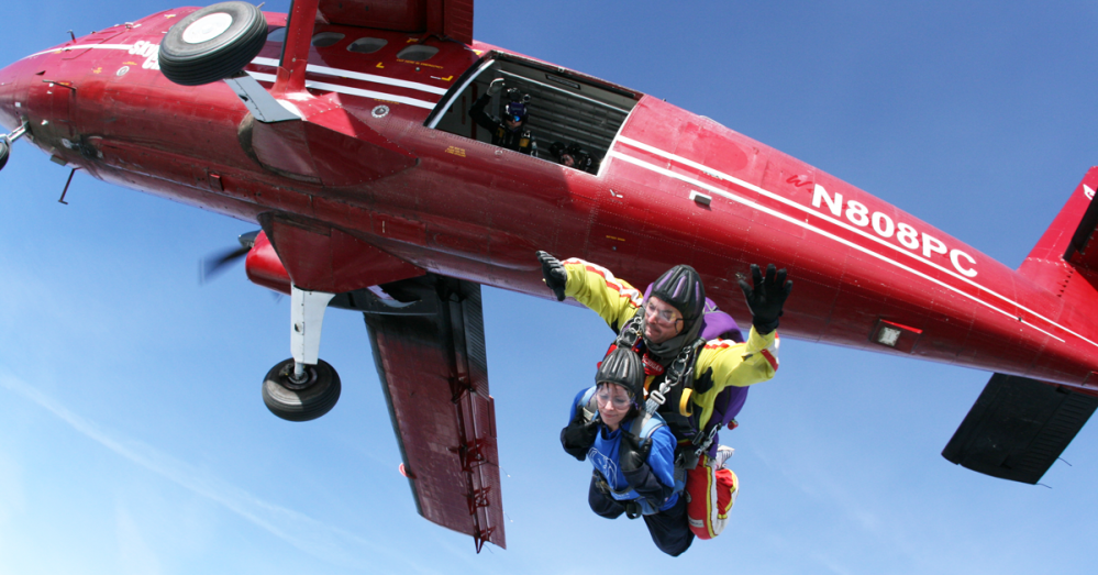 Skydive Event Page Featured Image